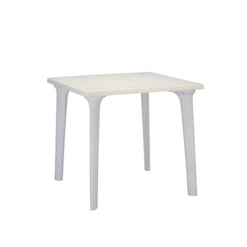 table ext rieure rialp 80x80cm table polyethylene. Black Bedroom Furniture Sets. Home Design Ideas