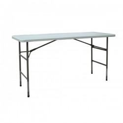 Table buffet polyéthylène 183 x 76 cm Hauteur 95cm