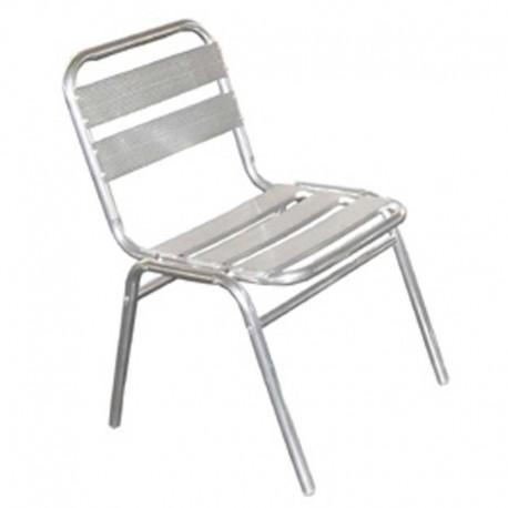 chaise aluminium empilable. Black Bedroom Furniture Sets. Home Design Ideas