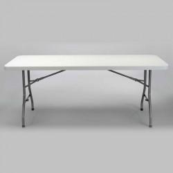 Table polyéthylène pliante 200x90x74 Quantité minimum de commande 5 tables