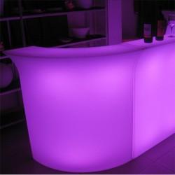 Bar lumineux d'angle