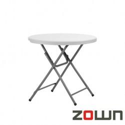 Table ronde pliante en polyéthylène PRAXIS 80 Diam: 80