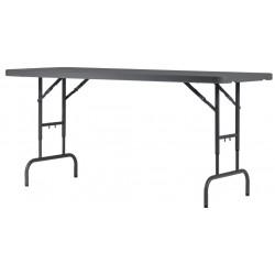 Table polyéthylène Worktop180 New classic 182.9 x 75.2 x 74.3 / 85.1 / 90.2 / 94.3 cm
