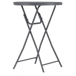 Table polyéthylène Cocktail80 New classic Ø81.3 x 110 cm hauteur