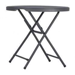 Table en polyéthylène Praxis80 New classic Ø81.3 cm x 74.3 cm