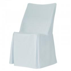 HOUSSE DE CHAISE POUR CHAISE OTTOCHAIR  Couleur : blanc. Vendu par lot de 10