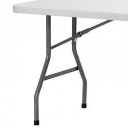 Table rectangulaire pliante Polyéthylène XL180 dim 183x76 Commande minimun de 10 tables