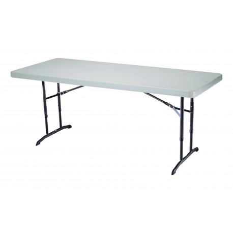 Table traiteur - enfants 183 x 76cm Lifetime pliable à hauteur réglable
