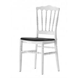 Coussin d'assise simple en stretch pour chaise bonaparte I