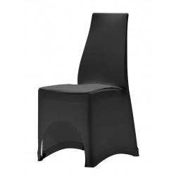 housses tombantes et stretch pour chaises empilables table